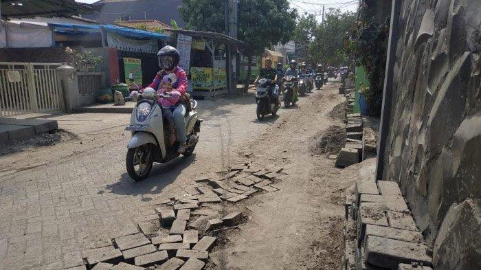 Terkait Bekas Galian Pipa di Jalan Jojoran I, Surabaya, PDAM Proses Rekondisi Jalan itu Seminggu