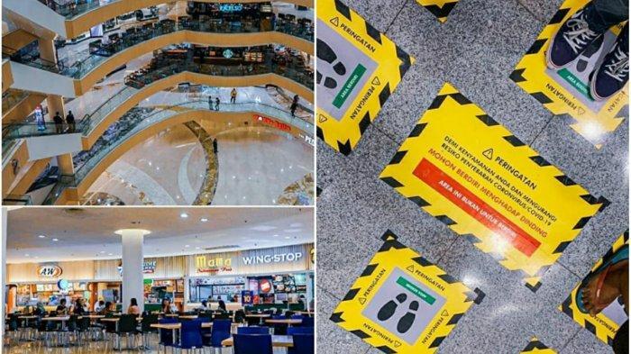 Potret Mall di Surabaya Sepi Pengunjung Imbas Virus Corona, Dari Tunjungan Plaza hingga Grand City