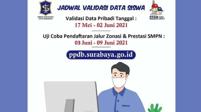 PPDB Surabaya 2021: Diprediksi Terjadi Penumpukan Pendaftar pada Jalur Prestasi di SMPN Favorit