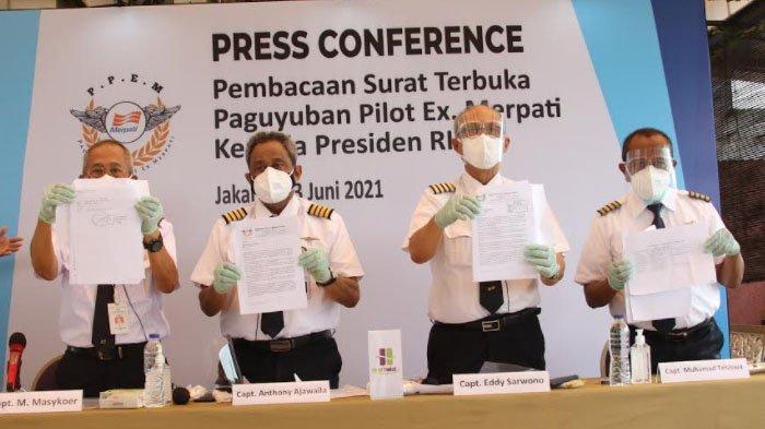 Eks Karyawan Merpati kembali Tagih Pesangon dan Pensiun yang Belum Lunas sejak 6 Tahun Lalu
