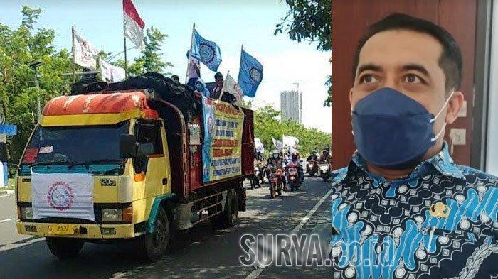 Hari Buruh Internasional, Disnaker Kabupaten Kediri Imbau Buruh Gelar Kegiatan Bakti Sosial