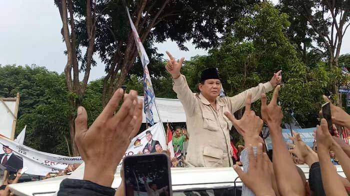 Prabowo Datang, Ketua Tim Pemenangan OptimitisPrabowo - Sandi Menang 60 Persen di Gresik