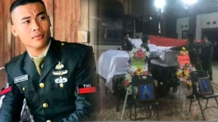 Pratu Dedi Hamdani, prajurit Yonif Raider 408/Suhbrastha yang gugur ditembak KKB Papua.