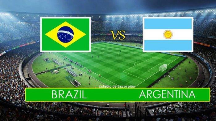 Jadwal Final Copa America: Brazil - Argentina, TV Indosiar Minggu 07 WIB, Kolombia-Peru Sabtu