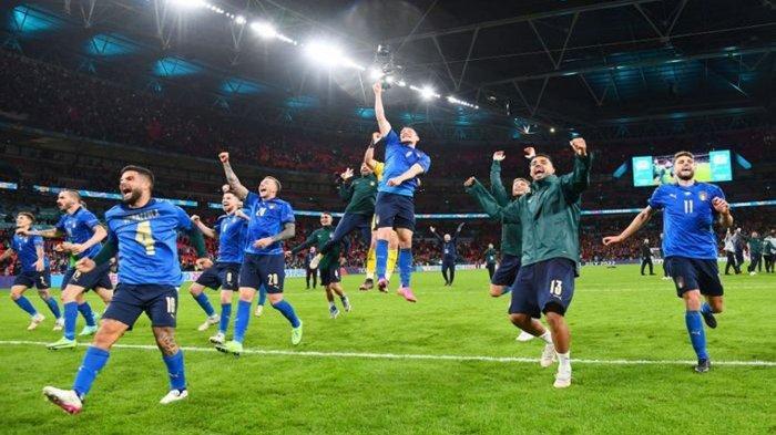 Prediksi Skor Italia vs Inggris Final Euro 2020 Besok 12 Juli 2021 dan Fakta Menarik The Three Lions