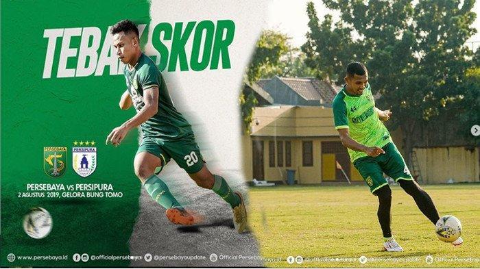 Prediksi Skor Persebaya Surabaya vs Persipura, Jumat 2 Agustus 2019 Kick Off 18.30, LIVE di Indosiar
