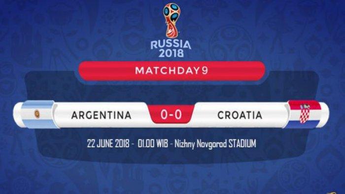 Prediksi Piala Dunia 2018 - 7 Fakta Jelang Argentina Vs Kroasia