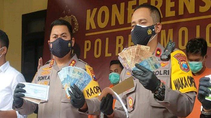 Sebulan Raup Rp 12 Juta dari Memeras Sopir NIP Ngoro Mojokerto, Pelaku Juga Setor ke Karang Taruna