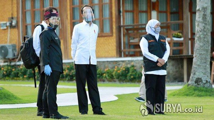 Tinjau Langsung, Presiden Joko Widodo Sebut Banyuwangi Paling Siap Menuju New Normal Pariwisata