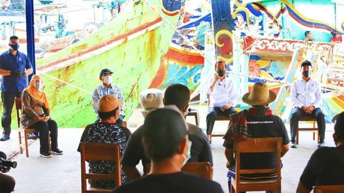 Gubernur Khofifah Sampaikan Terima Kasih Kepada Presiden Jokowi Atas Pengerukan Pelabuhan Brondong