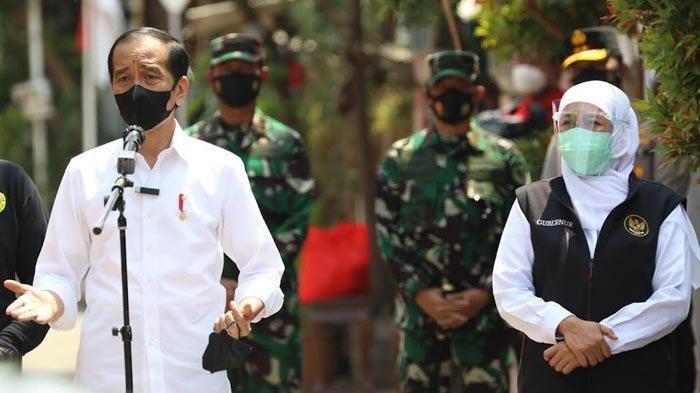 Presiden Joko Widodo Apresiasi Metode Vaksinasi Covid-19 Door to Door di Kampung Pesilat Madiun