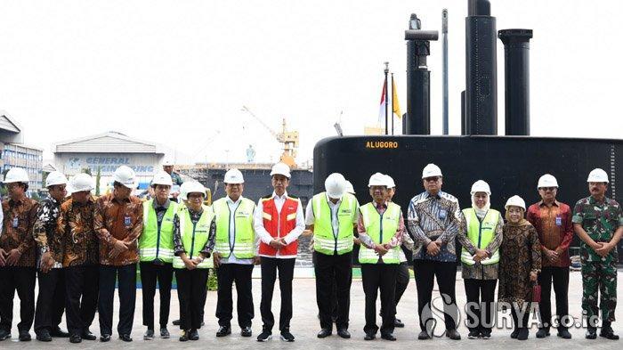 Keberadaan Kapal Selam Alugoro, Presiden Jokowi: Titik Awal Kemandirian Produksi Alutsista Nasional