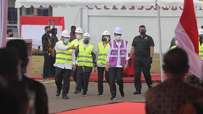 Presiden Joko Widodo Resmikan SPAM Umbulan di Kabupaten Pasuruan