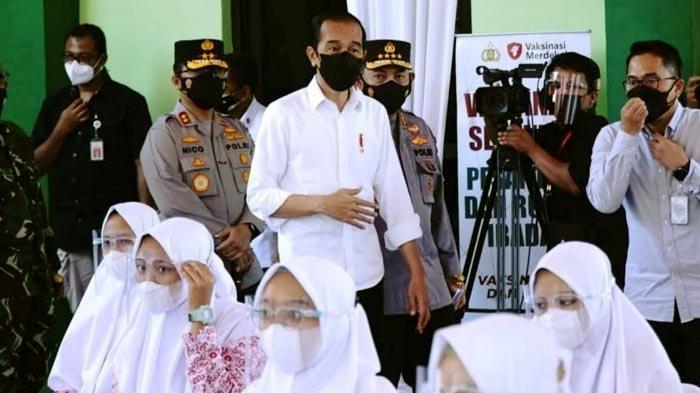 Presiden Joko Widodo Minta Target 70 Persen Vaksinasi Covid-19 di Jatim Tuntas Akhir Tahun