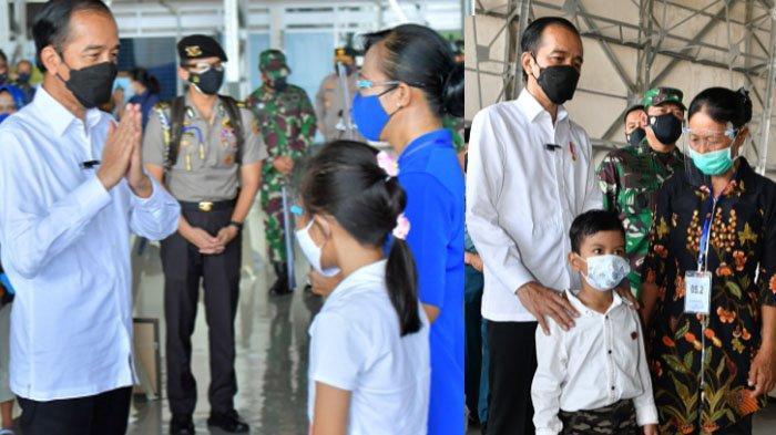 Jokowi Janji Bangunkan Rumah untuk Keluarga Awak KRI Nanggala 402, Kapolri Tawarkan Jadi Polisi