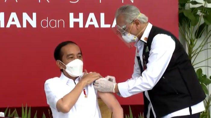 Efek Samping Disuntik Vaksin Sinovac Mulai Dirasakan Jokowi, Mirip Ridwan Kamil, ini 5 Fakta Terbaru