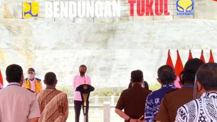 Diresmikan Jokowi, Bendungan Tukul Pacitan Mampu Airi 600 Hektare Sawah