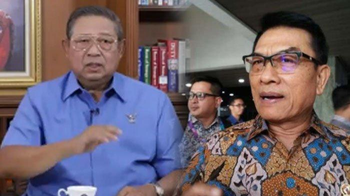 SBY Bandingkan Integritas Jokowi dan Moeldoko, Siap Turun Gunung Hentikan Kudeta Partai Demokrat