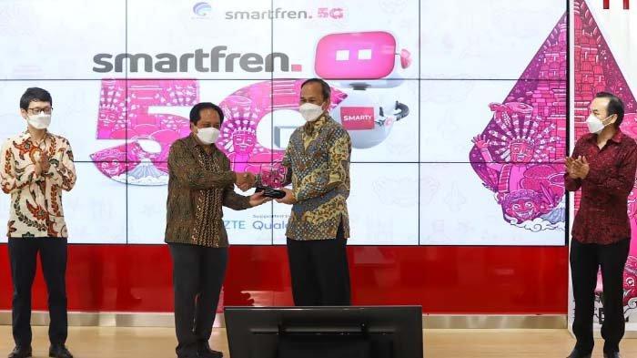 Kominfo bersama Smartfren Gelar Uji Coba Teknologi 5G Tahap Kedua
