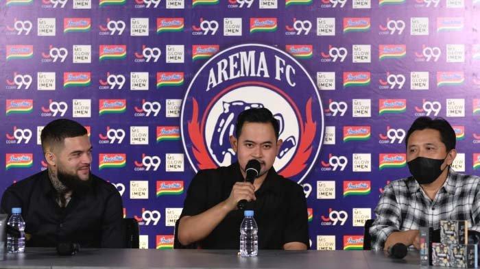 Presiden Klub Arema FC Siap Bertemu Yayasan dan Keluarga Pendiri upaya Solusi Akhiri Dualisme