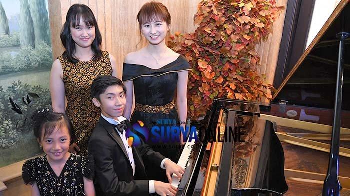 Galeri Foto - 4 Pianis Surabaya Berprestasi akan Tampil di ajang Weill Recital Hall New York