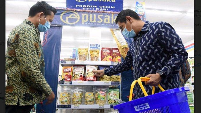 Berkat Peran Toko Retail Modern, Derajat Produk UMKM di Kota Kediri Ikut Terangkat