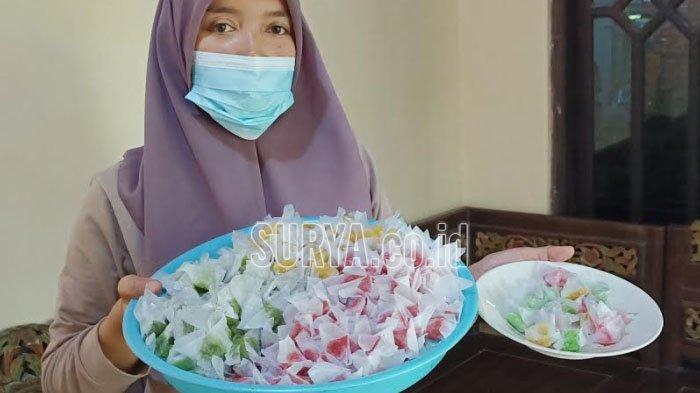 Jelang Lebaran 2021, Jajanan Tradisional Wajik Kletik di Kabupaten Kediri Banjir Pesanan