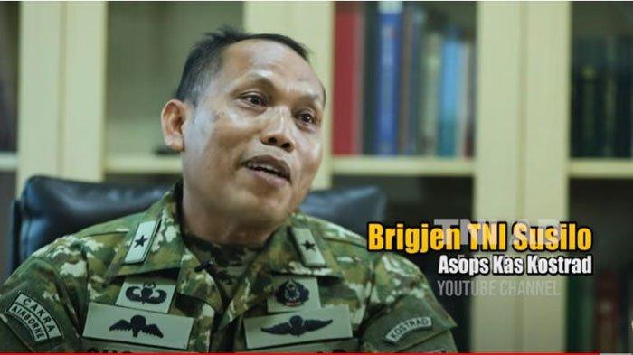 Profil dan Biodata Brigjen TNI Susilo Petinggi Kostrad, Pangkatnya Dinaikkan Jenderal Andika Perkasa