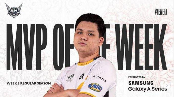 Profil dan Biodata RRQ Alberttt: MVP MPL Season 8 Week 3, Catatkan Savage Perdana Musim Ini