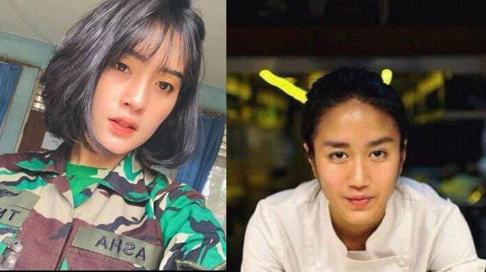 Profil dan Sosok Asha Ramadia Prajurit TNI yang Disebut Mirip Chef Renatta hingga Jessica Iskandar