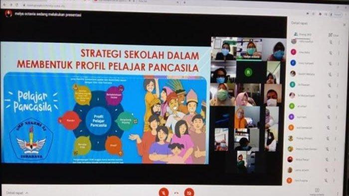 Dinas Pendidikan Surabaya Sosialisasi Profil Pelajar Pancasila, Diikuti Guru dan Kepala Sekolah
