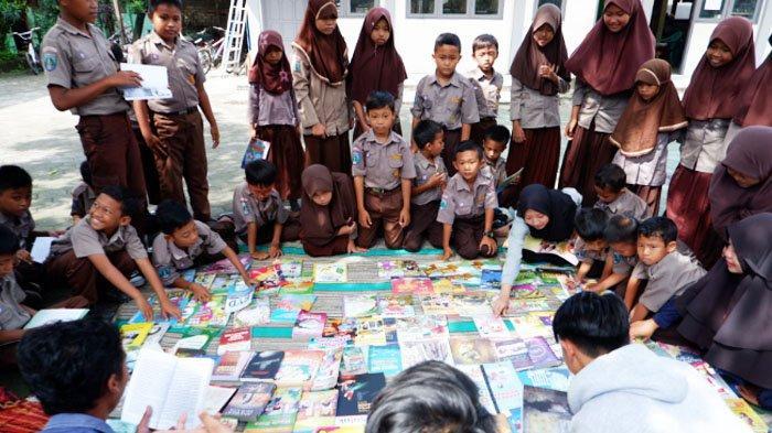 TargetKomunitas Perpustakaan Sejati (KPS):Anak-anak Berani Tinggalkan Gadget dan Beralih Baca Buku