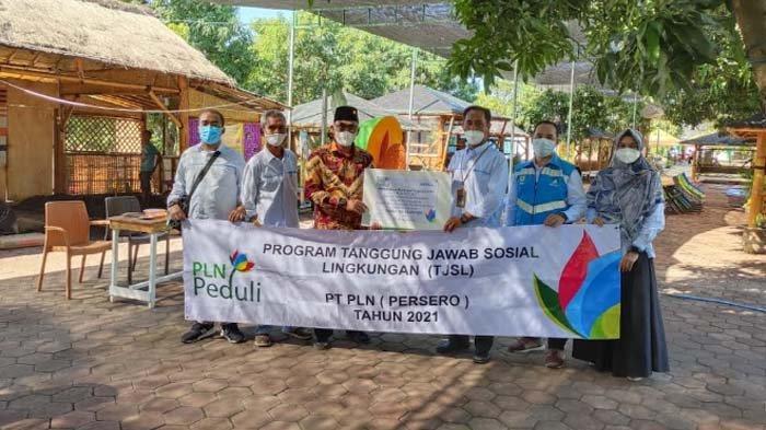 Dukung Perekonomian Masyarakat, PLN Bantu Desa Wisata Hidroponik di Pasuruan