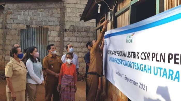 PLN Gratiskan Biaya Sambung Listrik ke 1.373 Keluarga di Desa Terpencil di Provinsi NTT