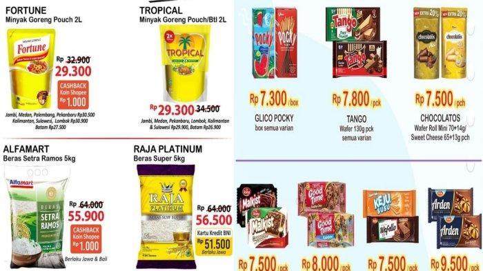 Promo Alfamart dan Indomaret 1 Oktober 2021, Diskon Minyak Goreng Murah dan Camilan