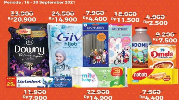 Promo Alfamart dan Indomaret 21 September 2021, Diskon Popok Bayi 23 Persen dan Potongan ShopeePay