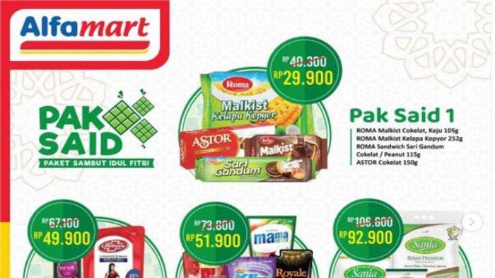 Promo Alfamart dan Indomaret Hari ini 11 Mei 2021 hingga Lebaran, Ada Diskon Spesial Idul Fitri
