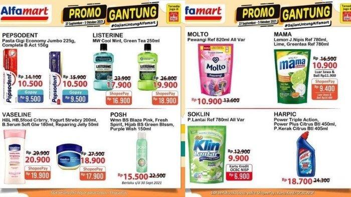 Promo Alfamart dan Indomaret 27 September: Popok Bayi Murah dan Harga Khusus Bayar Pakai Gopay