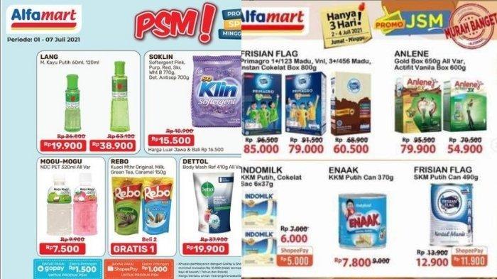 Promo Alfamart dan Indomaret Hari ini 4 Juli: Harga Spesial Bayar Pakai Gopay dan Diskon Popok Bayi