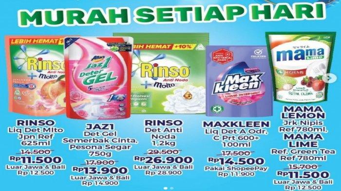 Promo Alfamart dan Indomaret 14 September 2021, Diskon Sabun Cuci Hingga Produk Perawatan Tubuh