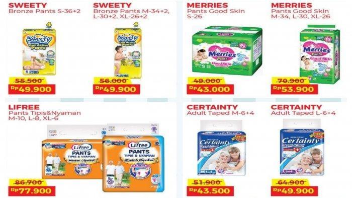 Promo Alfamart dan Indomaret 22 September 2021, Diskon Popok Bayi dan Produk Perawatan Tubuh