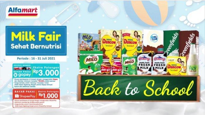 Promo Alfamart dan Indomaret Hari ini 22 Juli 2021 hingga Akhir Bulan: Kebutuhan Dapur & Produk Susu