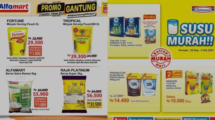 Promo Alfamart & Indomaret 30 September 2021: Penawaran Spesial untuk Minyak Goreng hingga Susu Box