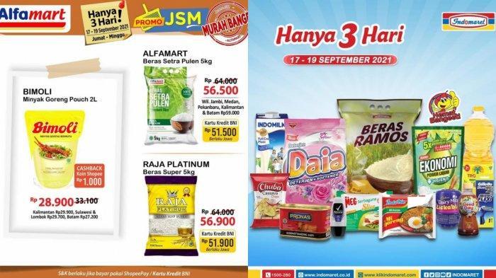 Promo Alfamart dan Indomaret 18 September: Harga Spesial Minyak Goreng, Festival Tebus Murah
