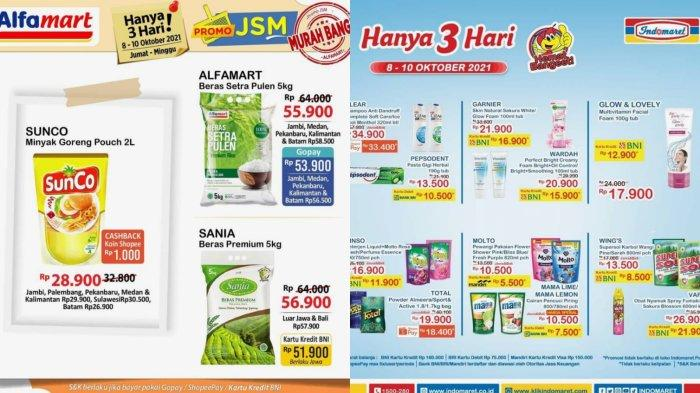 Promo Alfamart & Indomaret JSM 8 Oktober 2021: Harga Spesial Minyak Goreng hingga Sabun Cuci Piring