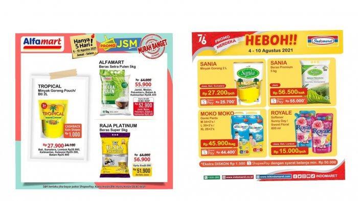 Promo Alfamart & Indomaret JSM Jumat 6 Agustus 2021: Harga dan Penawaran Spesial untuk Minyak Goreng