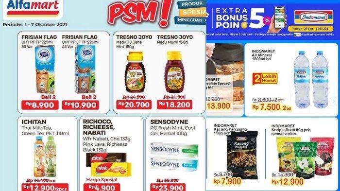 Promo Alfamart dan Indomaret, Minggu 3 Oktober 2021: Produk Spesial Mingguan Susu & Madu