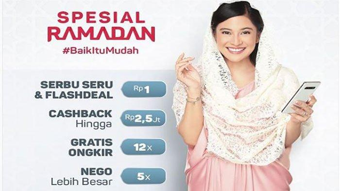 Promo Belanja Hemat Indomaret, Alfamart, & Bukalapak di Bulan Ramadan 1440 H, Ada Flashdeal 1 Rupiah