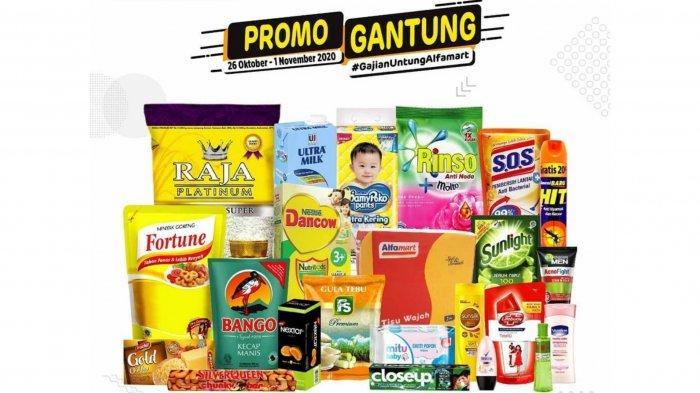 Katalog Promo Alfamart dan Indomaret Hari Ini 27 Oktober 2020: Diskon Sabun Cuci Hingga Es Krim