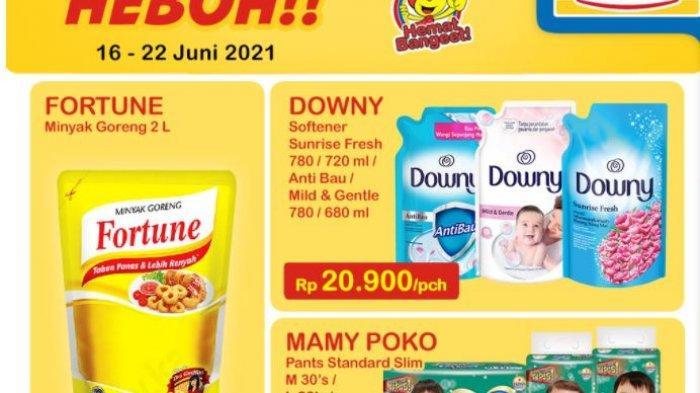 Promo Alfamart dan Indomaret Hari ini 22 Juni 2021: Hemat Bayar Pakai Gopay, Diskon Produk Susu Bayi